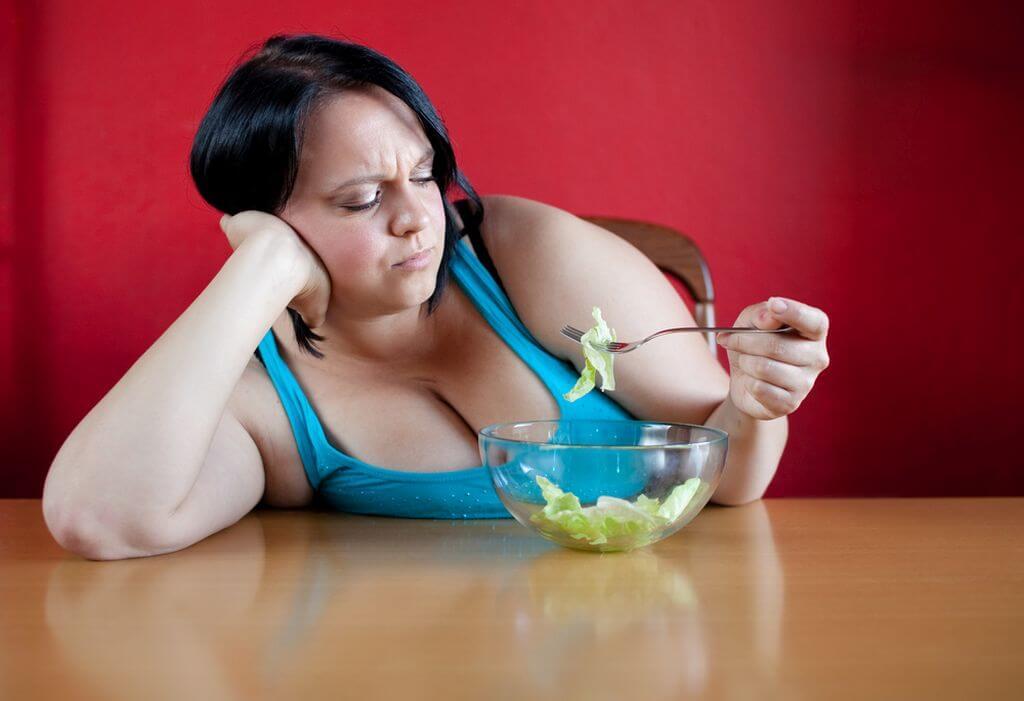 не могу сбросить лишний вес что делать