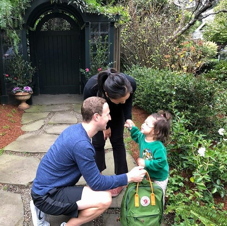 Mark Zuckerberg and Priscilla Chan conducted their daughter