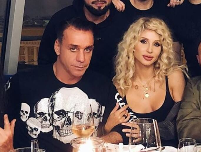 Loboda celebrated 37 anniversary with Till Lindemann and